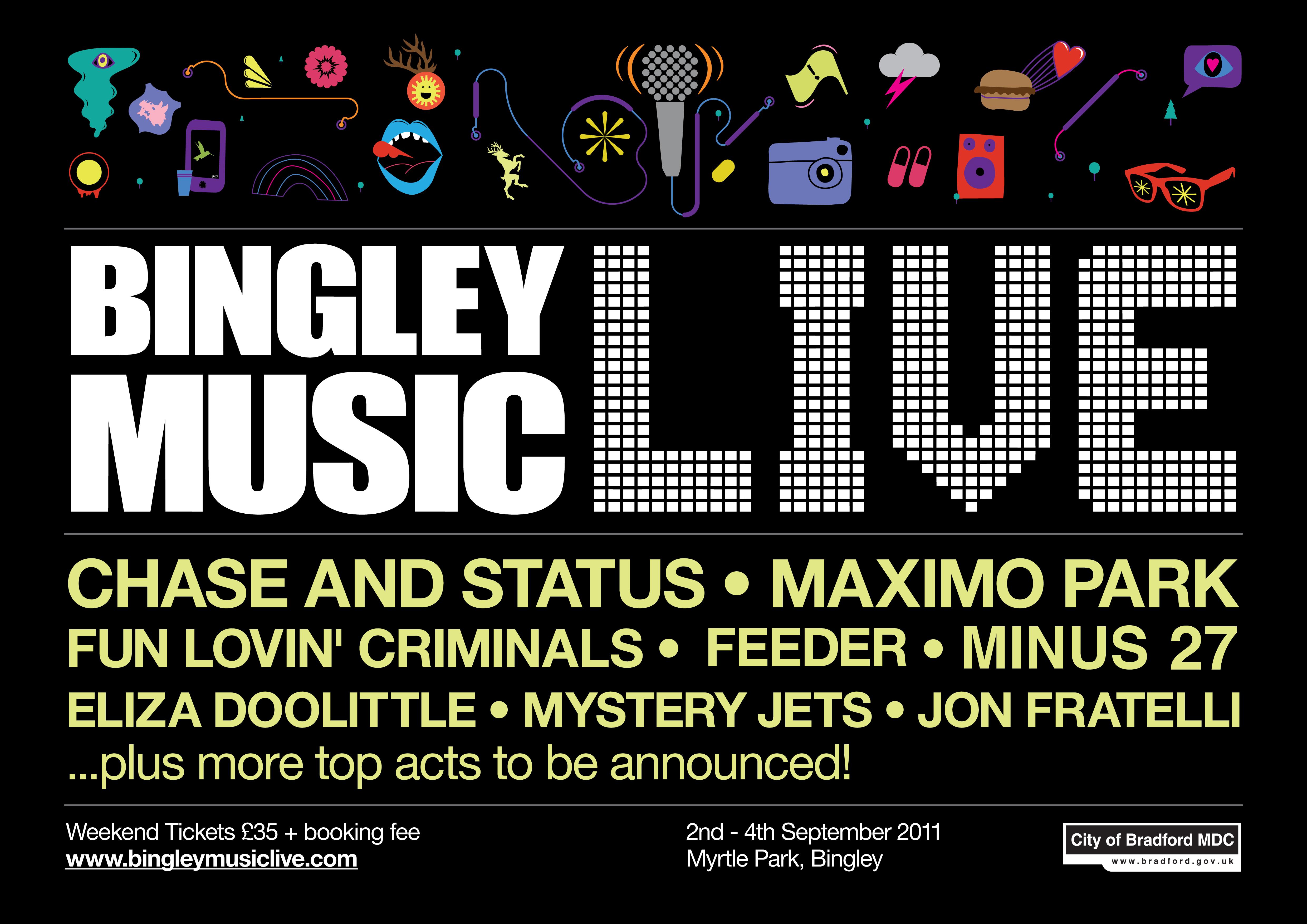 Minus 27 Bingley Live